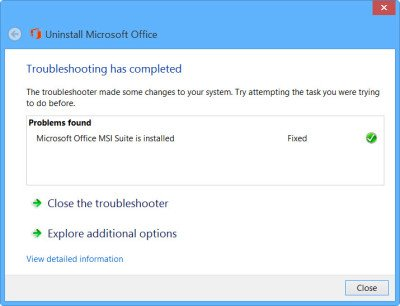 uninstall office 2031 6