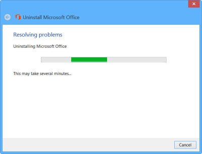 uninstall office 3