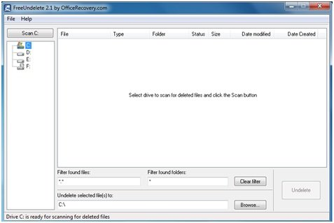 Portable Data Recovery freeware