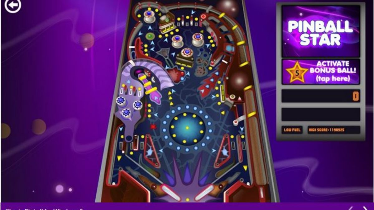 Download Classic 3d Pinball Star Game For Windows 10