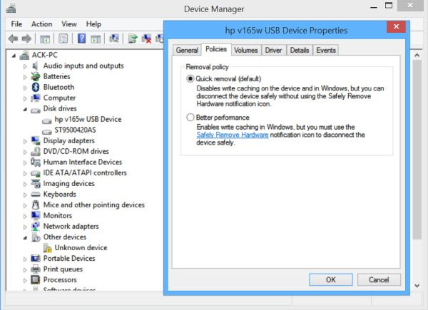 Safely Remove Hardware Not Working In Windows 10