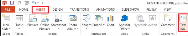 Make Animated Greeting Cards using PowerPoint