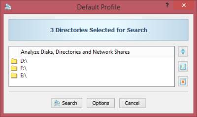 DupScout Directories