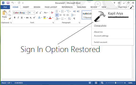 Fix-Sign-In-Feature-Disabled-In-Office-2013-3