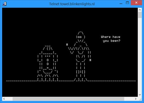 Star Wars in Windows telnet