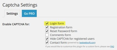 captcha-settings