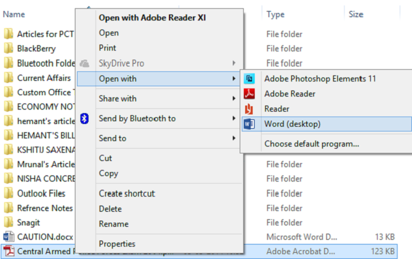 How to edit PDF files in Microsoft Word