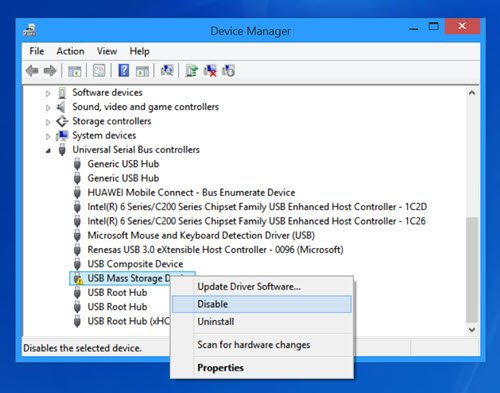 remount ejected USB Drive