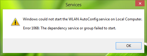 windows could not start the wlan autoconfig service