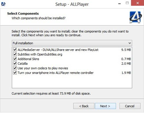 allplayer-installation