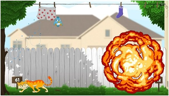 Cats Catch Game for Windows 8