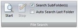 Search your files