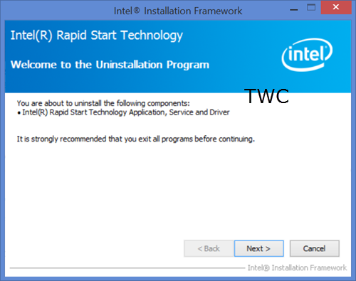 Intel Rapid Start Technology (2)