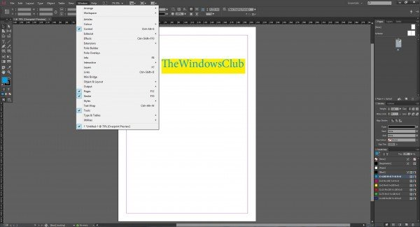 A Tutorial on InDesign CC 2014 for Beginner