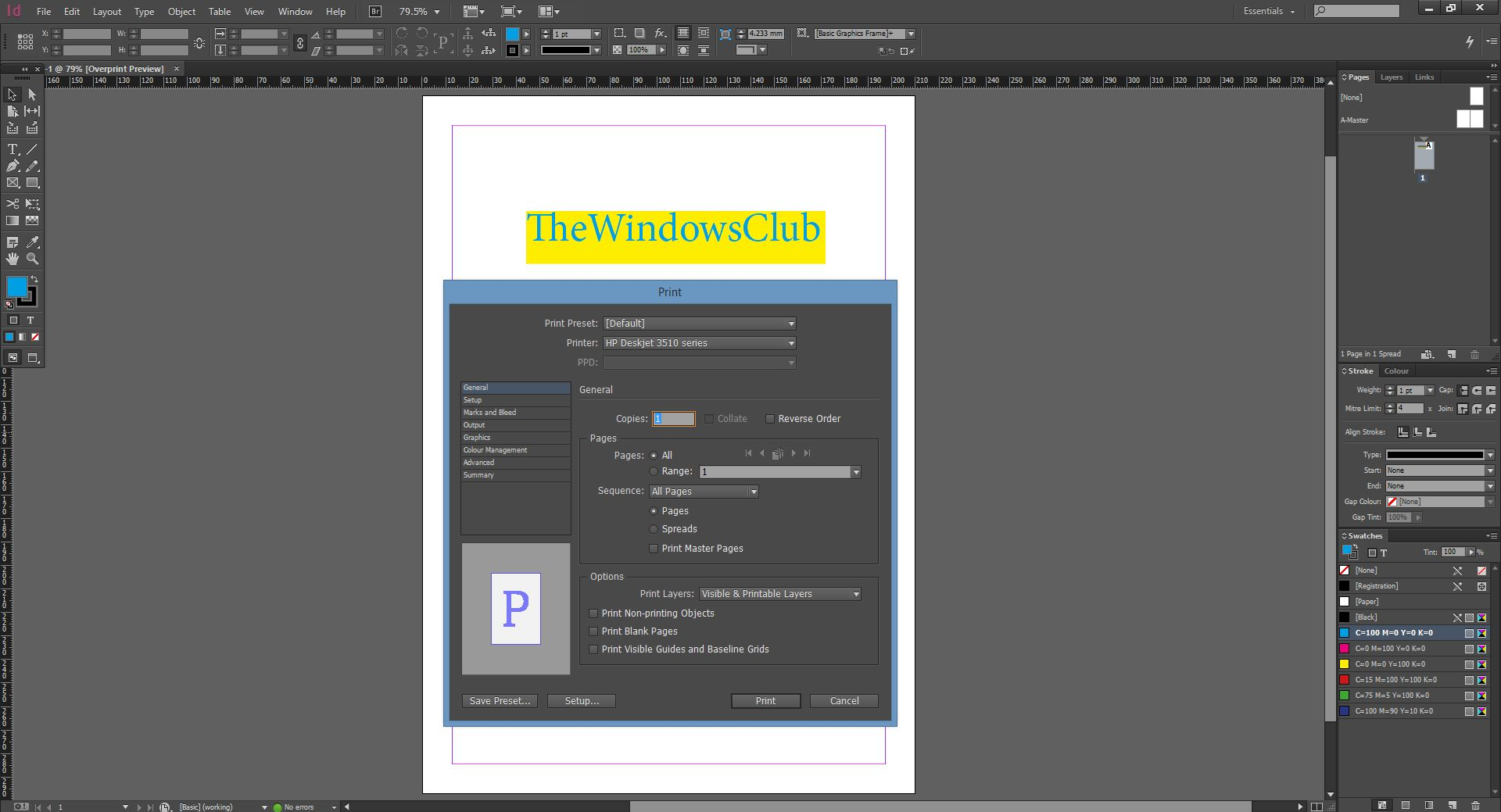 Print_InDesign CC 2014