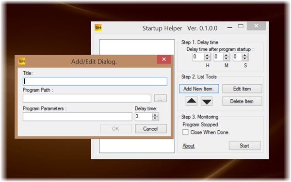 windows-startup-helper