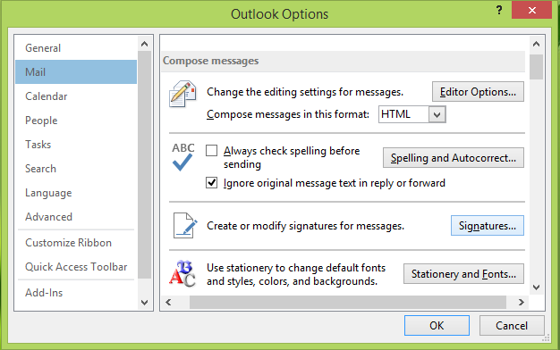 Unable-To-Add-Signature-In-Outlook-2013-3