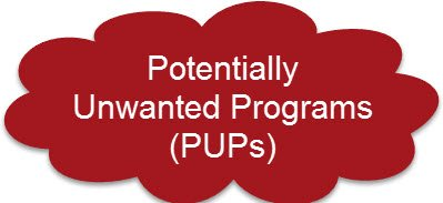 Potentially Unwanted Programs PUPs