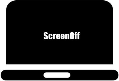 ScreenOff Turn off Windows laptop screen