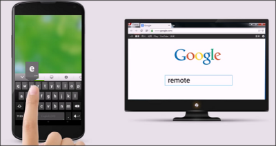 Use mobile as keyboard with Remote Mouse
