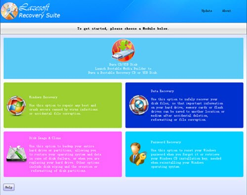 Lazesoft Recovery Suite Free Home Edition