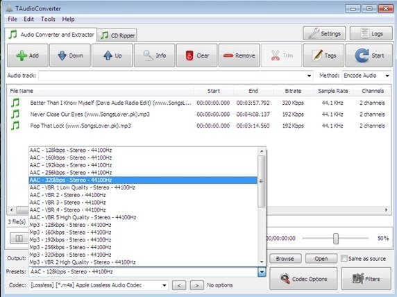 free audio converting software for Windows