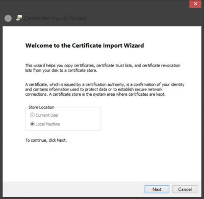 5 Manage Trusted Root Certificates