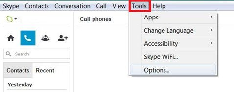 Disable Skype Emoticons