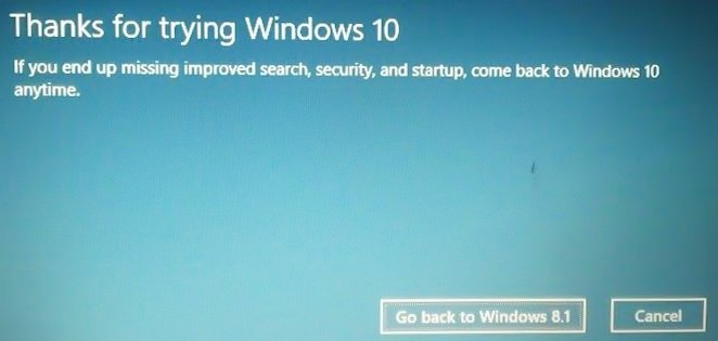 How to recover / restore your previous version of Windows