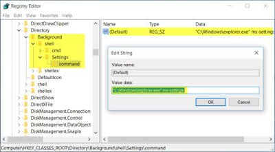 2 context menu settings c