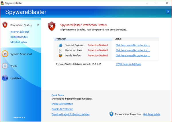 Spyware Blaster Review