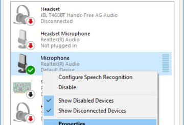 Increase Microphone Volume