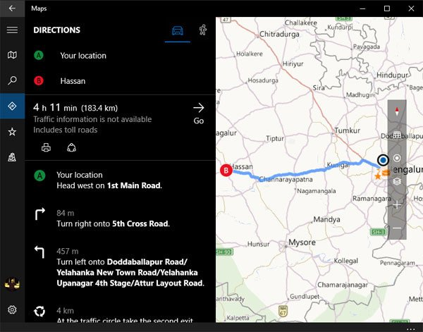 Download Offline Maps on Windows 10