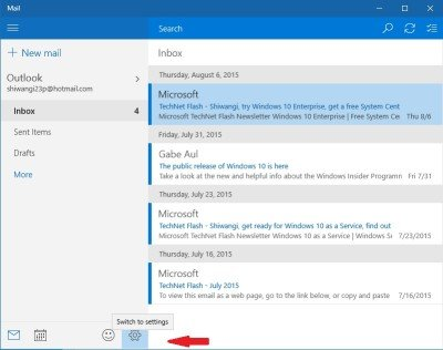 Mail app notifications 1