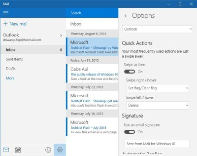 Mail app notifications 3