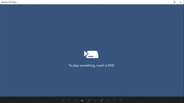 Windows DVD Player app for Windows 10