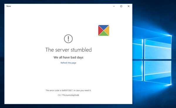 the-server-stumbled-windows10-store
