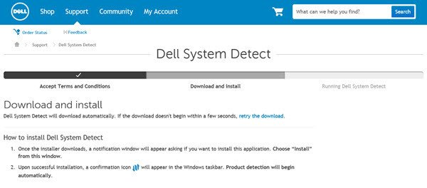 dell system detect 1