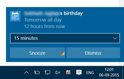 disable mail app notifications windows 10