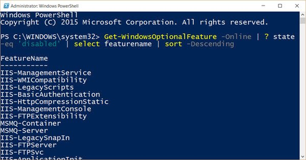 disabled-features-windows-powershell