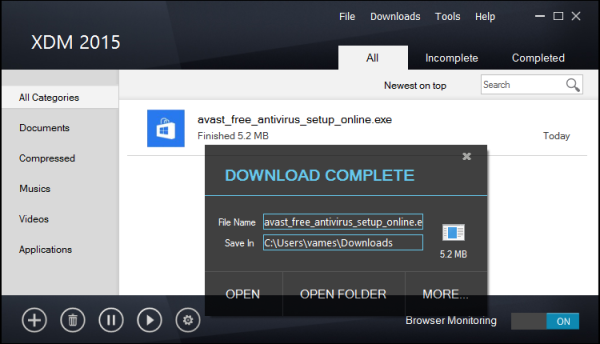 xtreme downloads manager