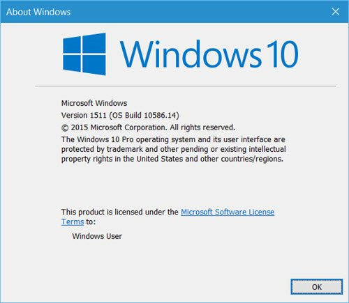 Which edition, version & build of Windows 10 do I have