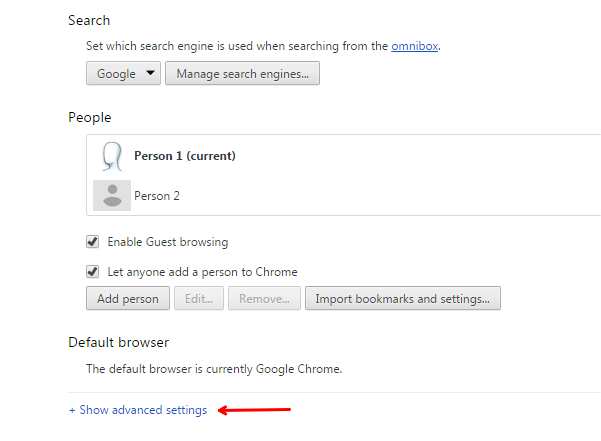 chrome tips and tricks advanced settings in Chrome