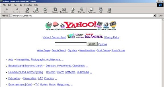 Surf The Internet From Its Early Days With Oldweb Today