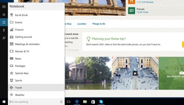 Plan Your Trip on Microsoft Surface