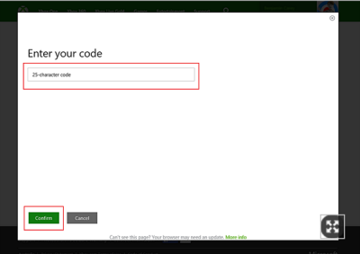 How to redeem Prepaid Codes to make Xbox Purchases