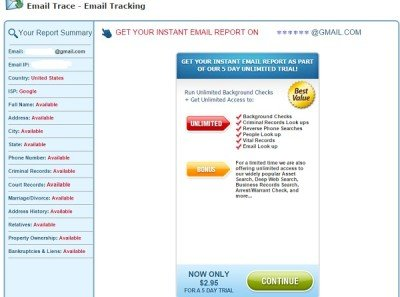 email leak test tool 5