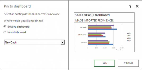 Share Excel insights with Power BI