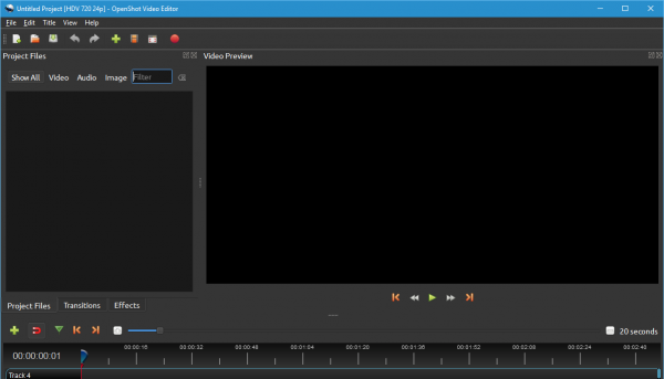 OpenShot Video Editor for Windows