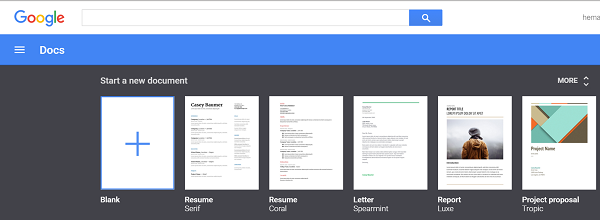 Type a document in Google Docs using Voice Typing Feature